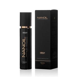 Zadbaj o włosy średnioporowate Nanoil